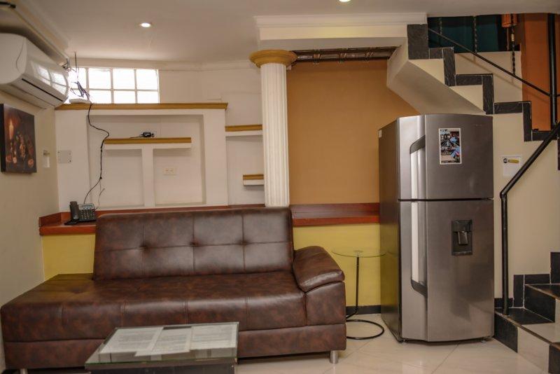 Couch/Fridge