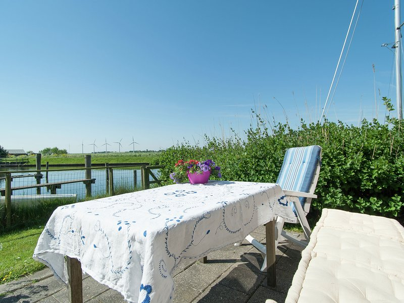 Beautiful holiday house situated on the waterside, holiday rental in Warns