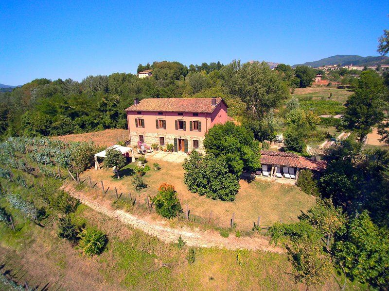 A nice rural house surrounded by hills and fields, holiday rental in Castiglione di Garfagnana
