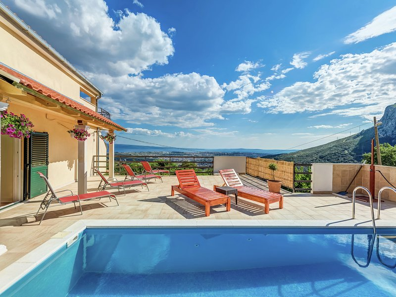 Modern villa Soline Dalmatia, Croatia, vacation rental in Klis