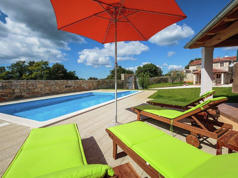 Luxurious Villa in Jakovici Croatia with Pool, holiday rental in Kringa