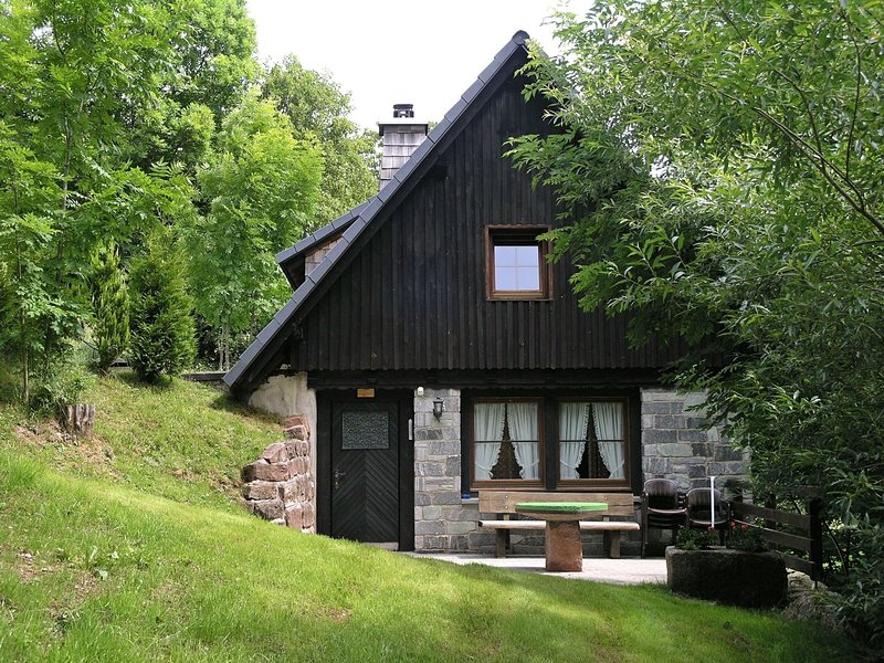Detached mill by a rippling brook, holiday rental in Schonaich