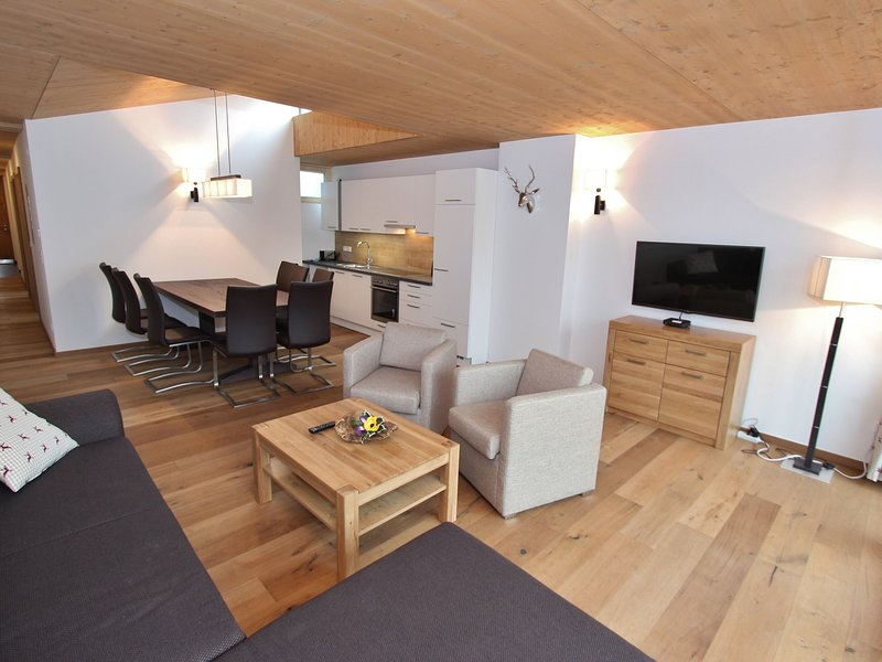 Beautiful apartment with garden, with access to sauna, holiday rental in Schonbach