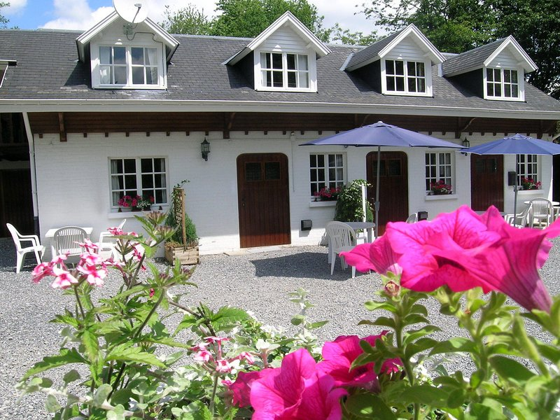 Apartment situated on a magnificent estate, holiday rental in Barvaux