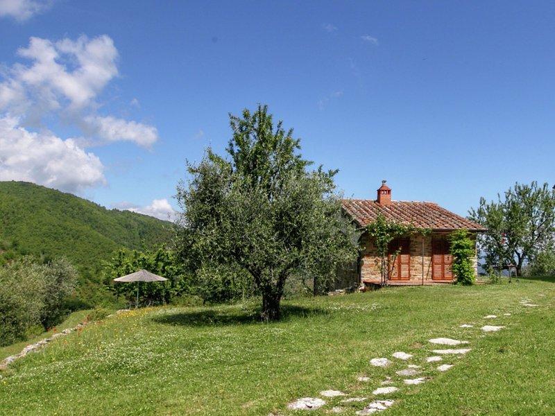 Stylish Holiday Home in Castelnuovo dei Sabbioni with Pool, holiday rental in Castelnuovo dei Sabbioni