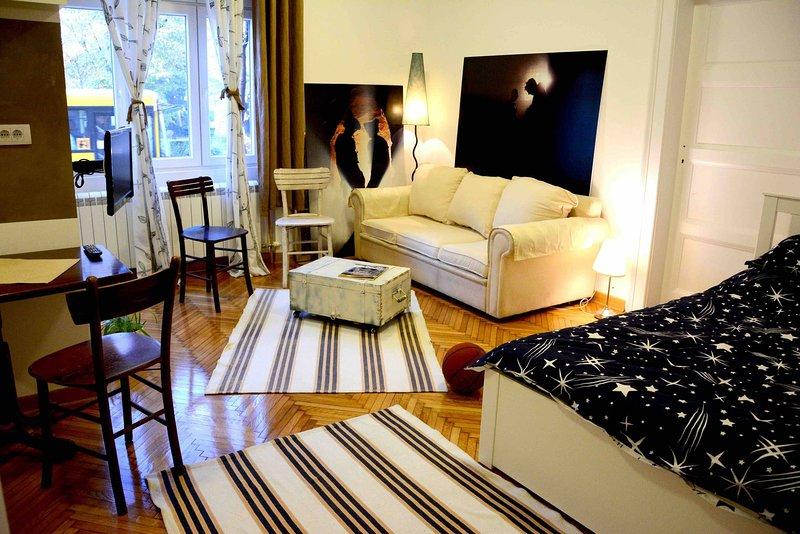 Salon 5 Zemun , Belgrade, alquiler vacacional en Borca