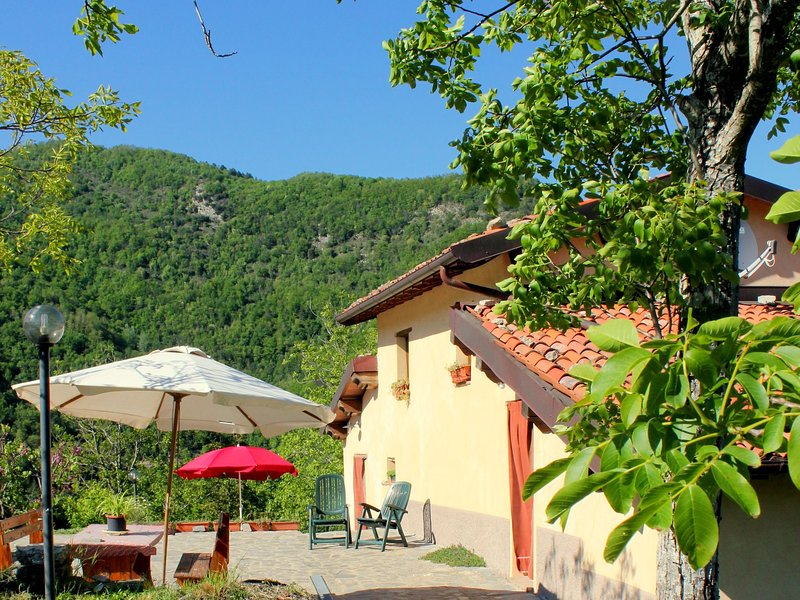 Renovated agritourism complex north of the ancient historic city of Lucca, holiday rental in Vergemoli