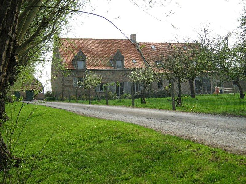 Quaint Farmhouse in Middelkerke Near Beach, location de vacances à Middelkerke