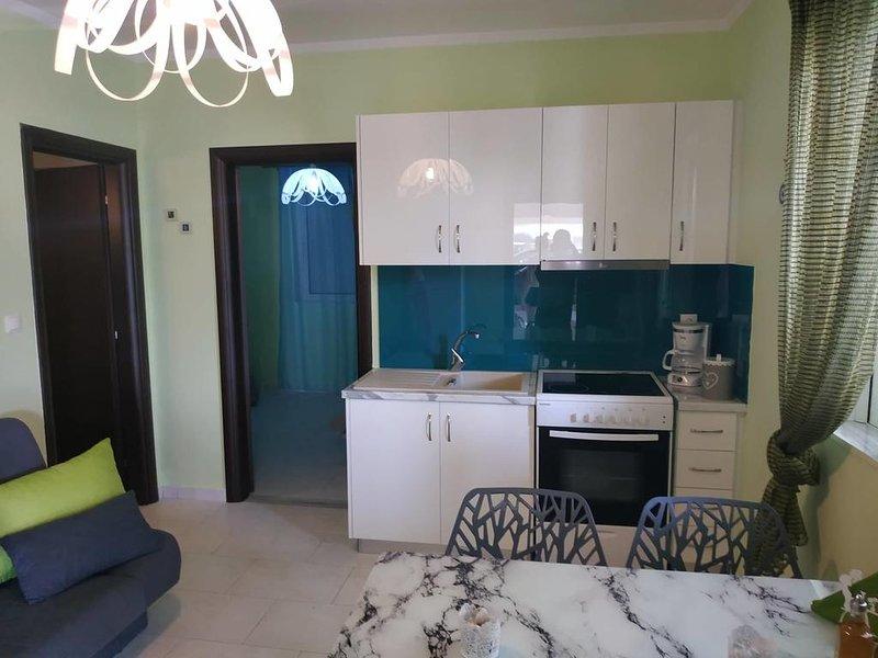 Olive Tree Green Apartment, aluguéis de temporada em Mycenae
