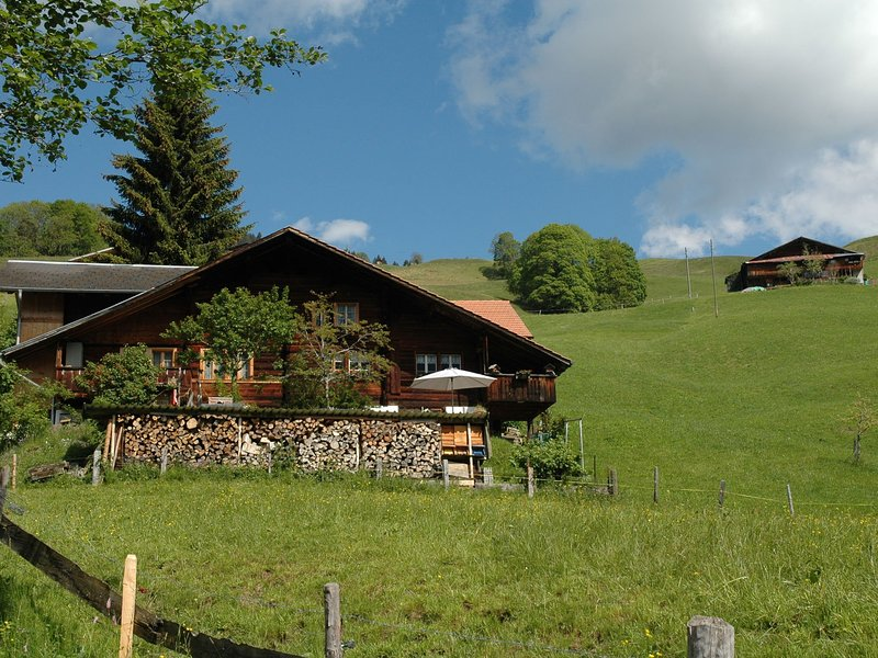 Serene Farmhouse in Habkern with Parking, vacation rental in Habkern
