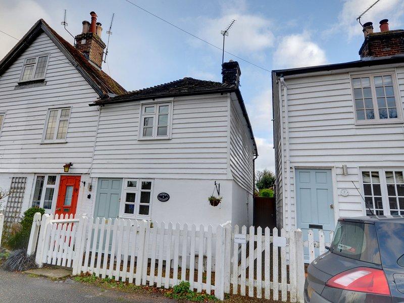 Charming 2 bedroom mid terrace cottage is in a quiet spot in Hawkhurst, location de vacances à Burwash