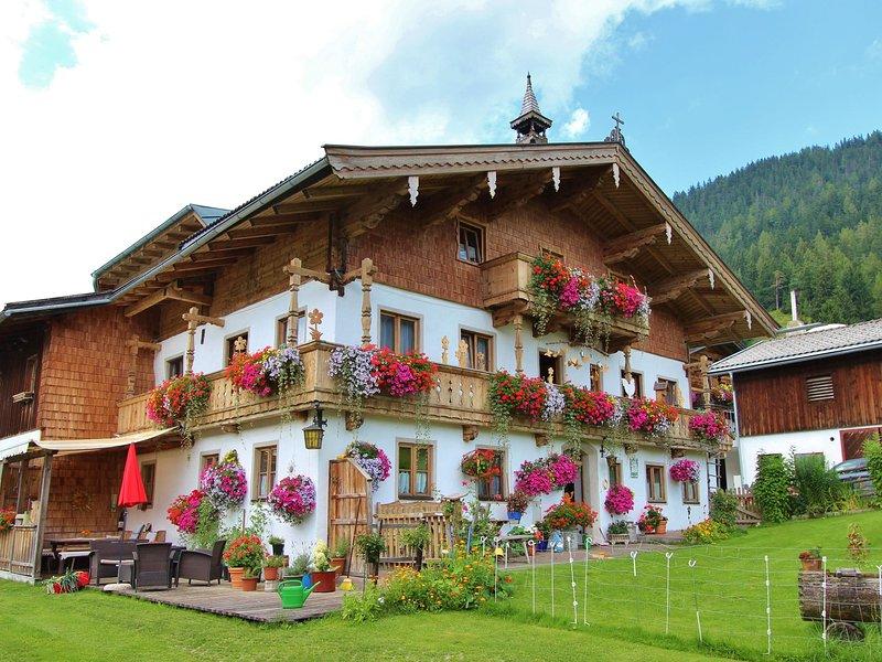 Spacious Apartment in Leogang in Ski Area, alquiler de vacaciones en Sankt Martin bei Lofer