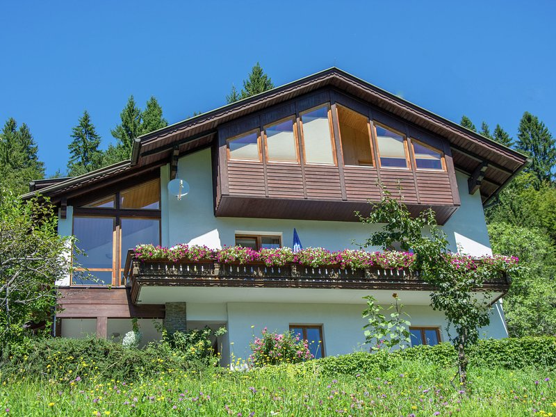 Apartment in a wooded area with pool, holiday rental in Jenig