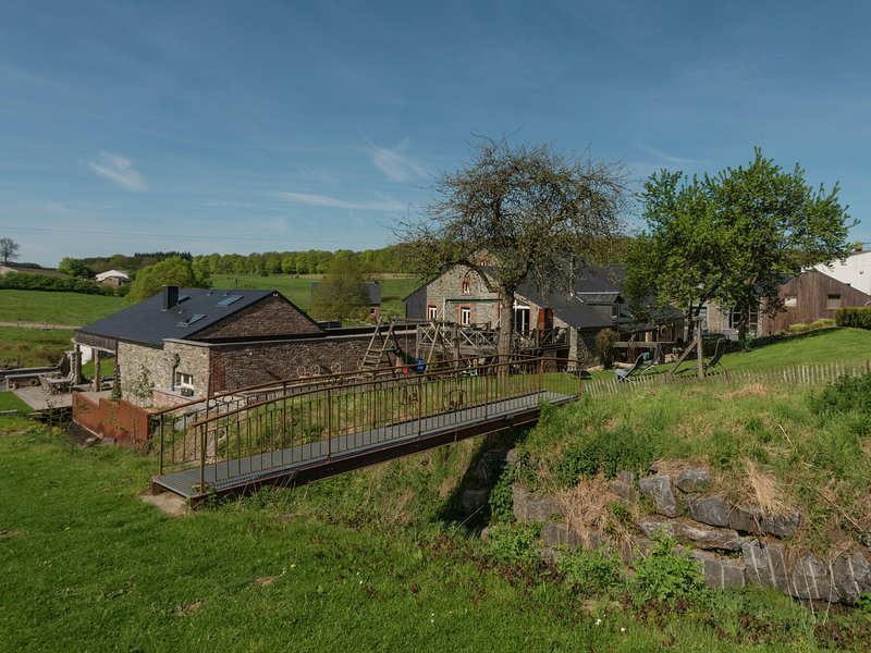 Vintage Mill with Sauna in Bertrix, holiday rental in Redu