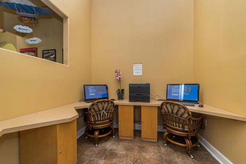 Terra Verde Resort Business Center with Internet