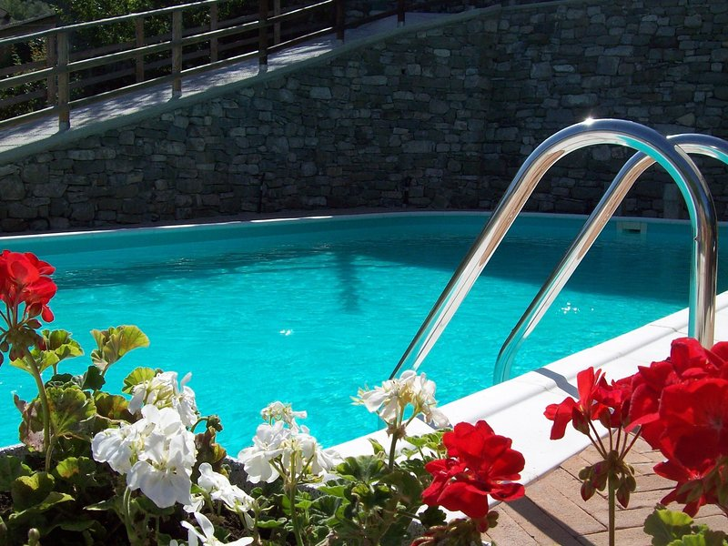 Modern Holiday Home in Tuscany amid the Forest, holiday rental in Pugliano