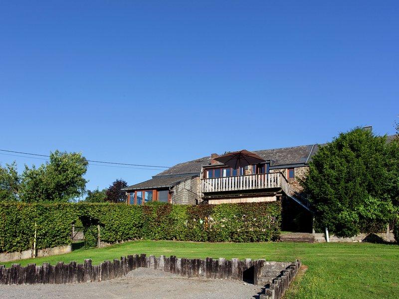 Cottage in a well-equipped and comfortable farmhouse, alquiler de vacaciones en Marche-en-Famenne