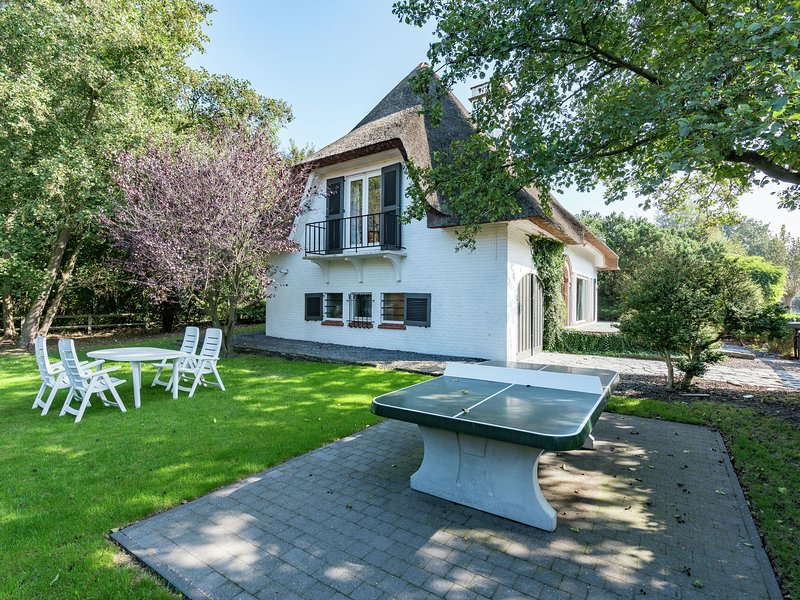 Beautiful villa on a great location Oostduinkerke nearby woods and beach, vacation rental in Nieuwpoort
