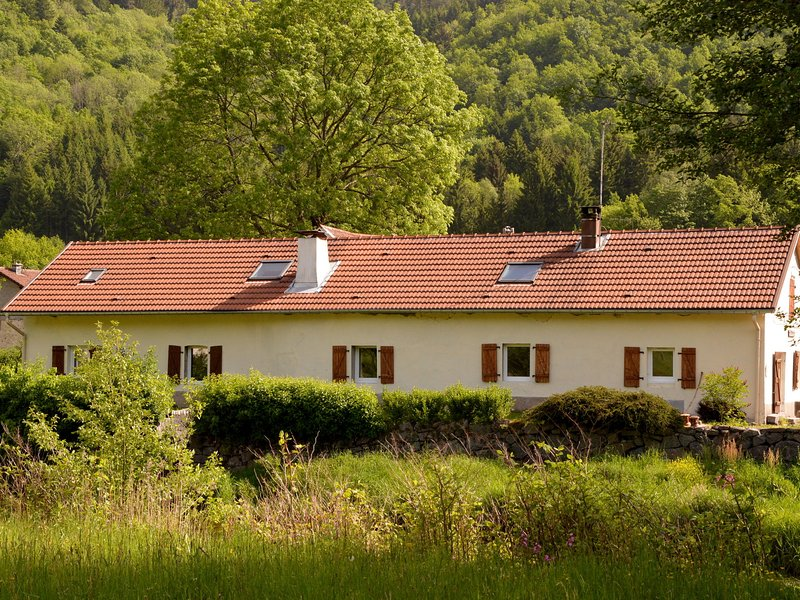 Detached Holiday Home in Lotharingen with Terrace, alquiler vacacional en Ferdrupt