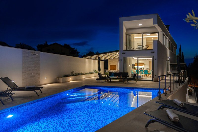 Villa Blue Haven – Luxury five star villa in Supetar, Brac island, vacation rental in Supetar