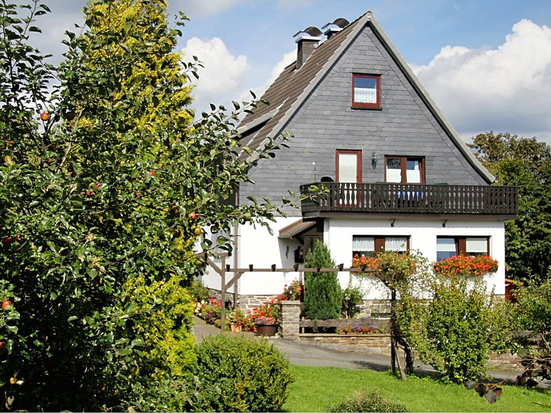Comfortable Apartment in Langewiese Sauerland with private garden, holiday rental in Langewiese