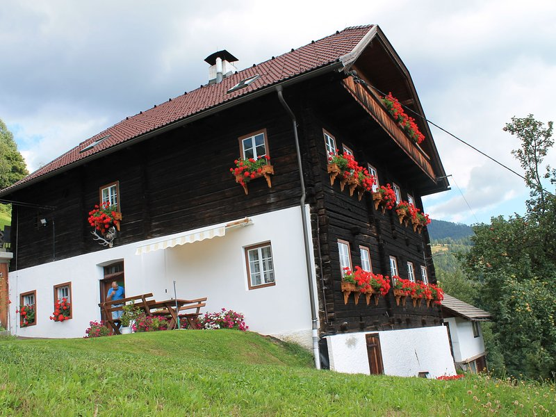 Whole floor appartment in a stunningly located 300 year old farmhouse, holiday rental in Millstatt