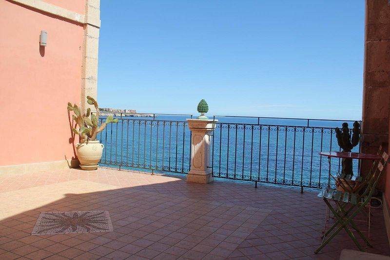 Sea Lux Loft, Ferienwohnung in Isola di Ortigia