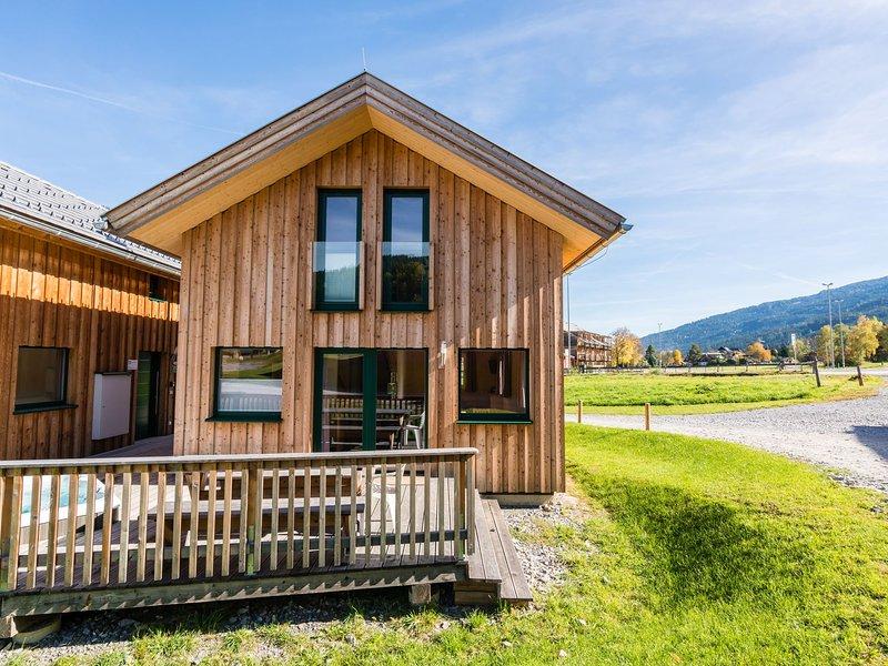 Modern Wooden Chalet in Sankt Georgen ob Murau with Jacuzzi, aluguéis de temporada em Sankt Lorenzen ob Murau