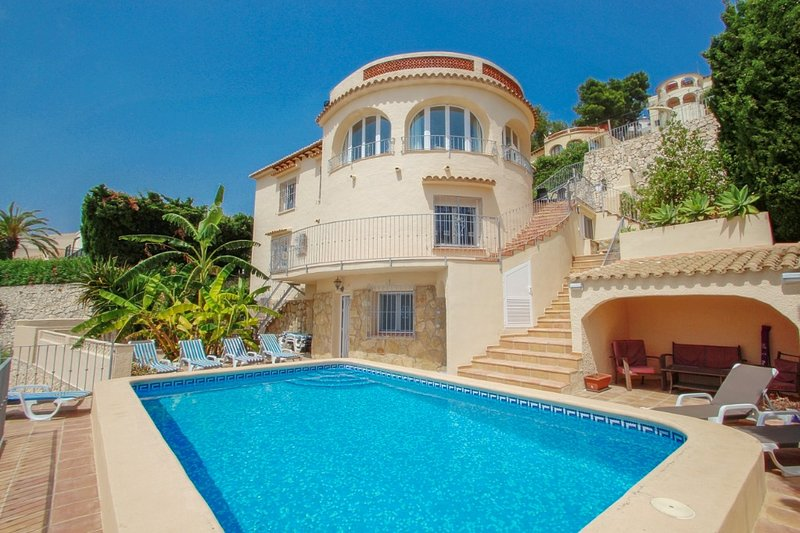 El Atardecer-10 - modern villa with splendid views in Benissa, location de vacances à Benissa
