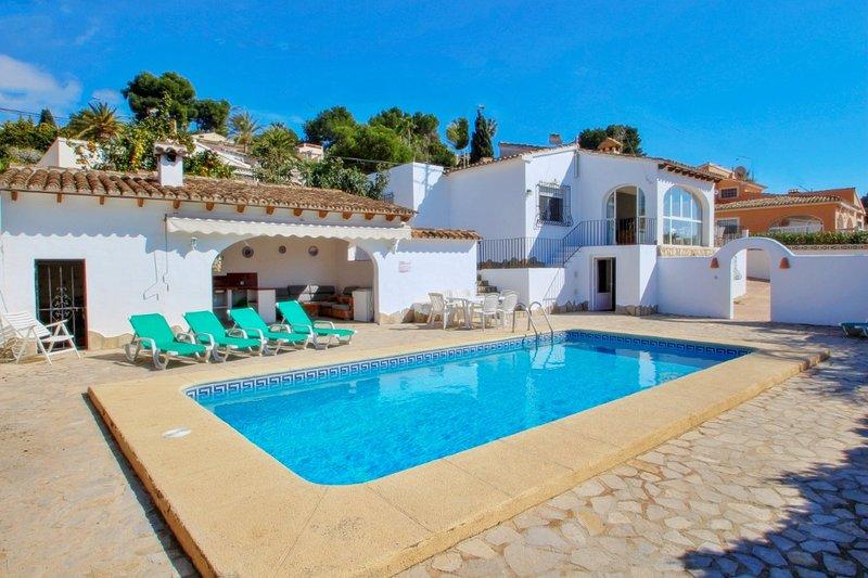 Mabruka - charming, Spanish finca style holiday villa in Benissa, vacation rental in Benissa