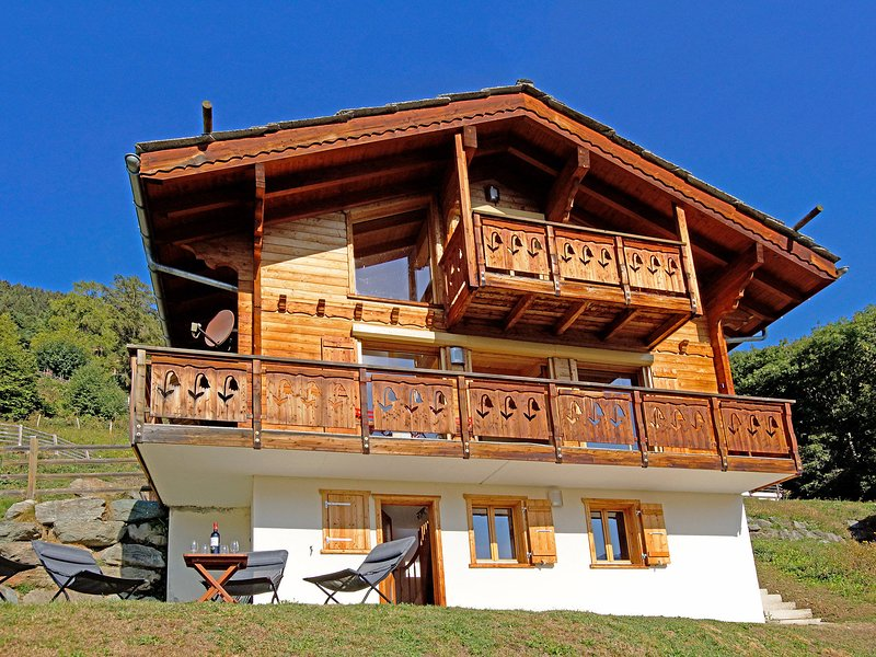 Beautiful luxury chalet in the top ski resort Quatre Vallées - Verbier. Chalet in Thyon / Les Collons