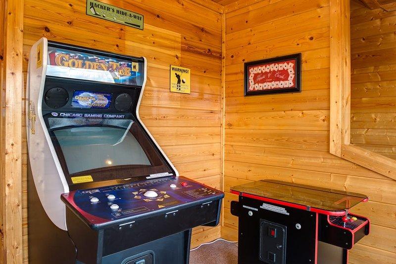 Arcade Game Machine, Mesa, Muebles, Silla, Pantalla
