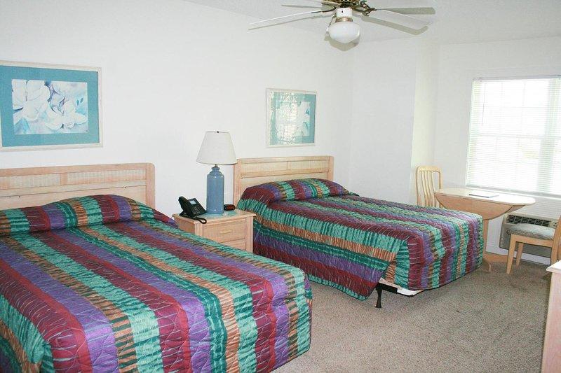Ventilatore a soffitto, interni, camera da letto, camera, mobili