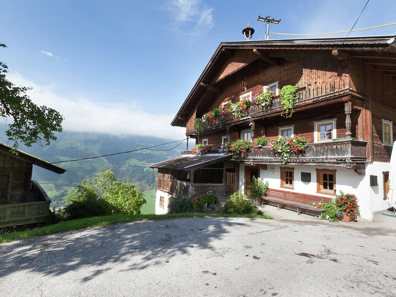 Spacious Farmhouse in Aschau im Zillertal with Meadow View, holiday rental in Thurnbach