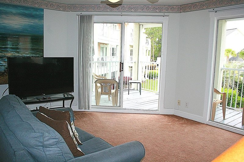 Écran, intérieur, salon, chambre, meubles