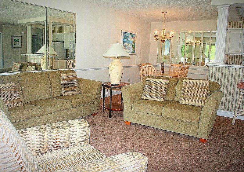 Sala de estar, habitación, interior, sofá, muebles