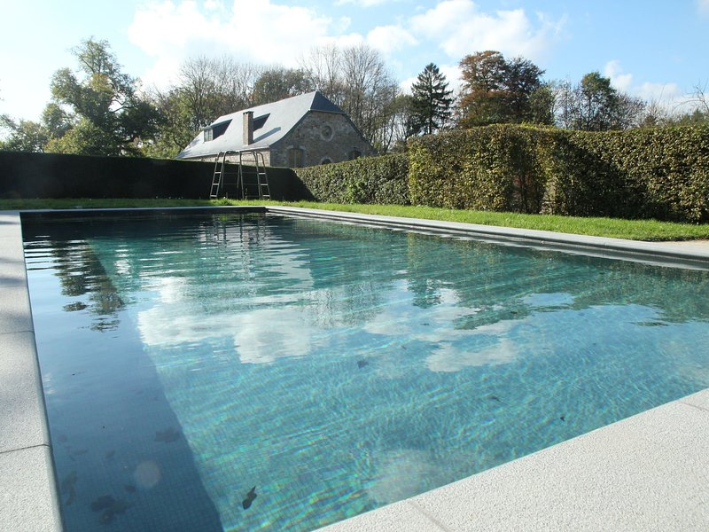 Gite with swimming pool situated in wonderful castle grounds in Gesves, vacation rental in Heron