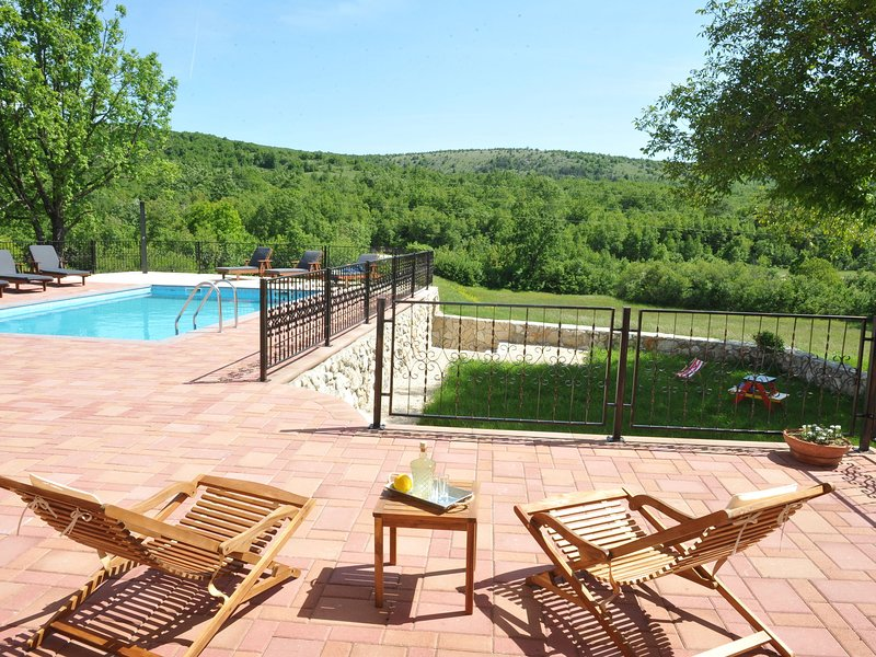 Luxurious Villa Tijarica Dalmatia in Croatia with Private Pool, holiday rental in Cista Provo