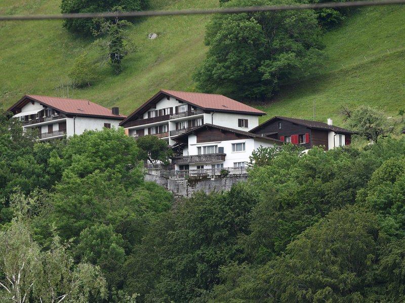 Modern Apartment near Forest in Mastrils, holiday rental in Gruesch