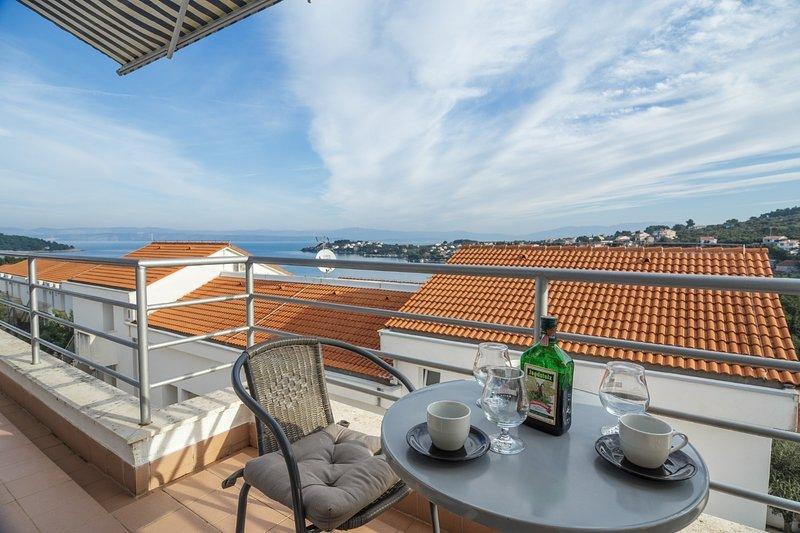 Tatja - 2 bedroom apartment: A1(4+1) - Necujam, vacation rental in Necujam