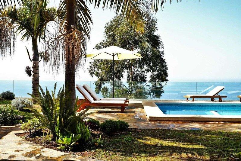 Casa Perseidas - Giardino con piscina
