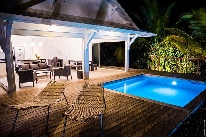 Villa de standing à 100m de la mer Ever Blue, holiday rental in Le Vauclin