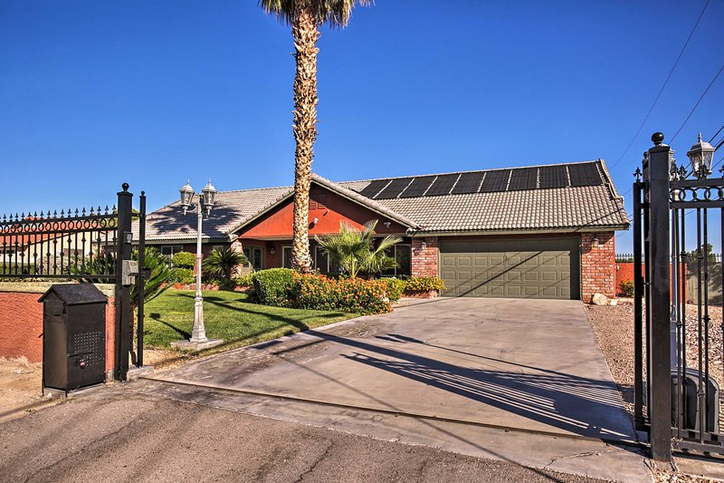 Let this Las Vegas vacation rental house be your home base for Sin City!