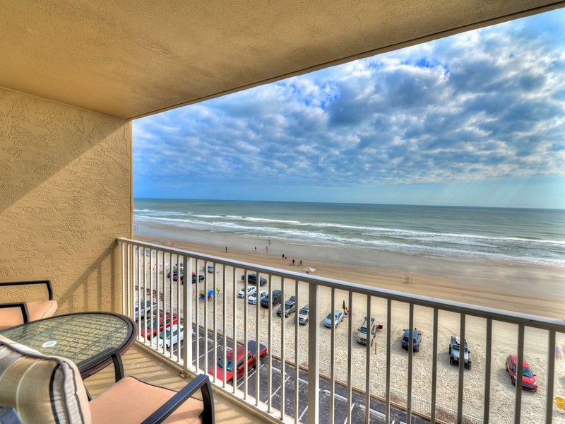 View from your Oceanfront Balcony