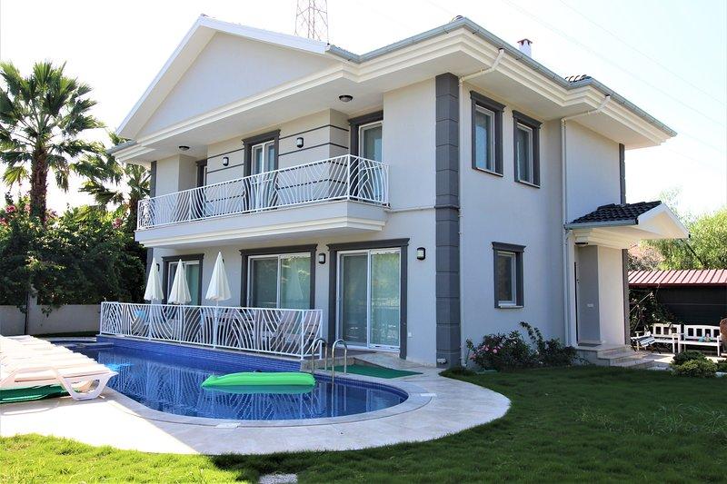 Villa Zuhal, Holiday Villa for rent in Dalyan, holiday rental in Koycegiz