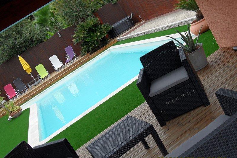 De 2 à 4 couchages au pays du soleil, location de vacances à Fréjus-Plage