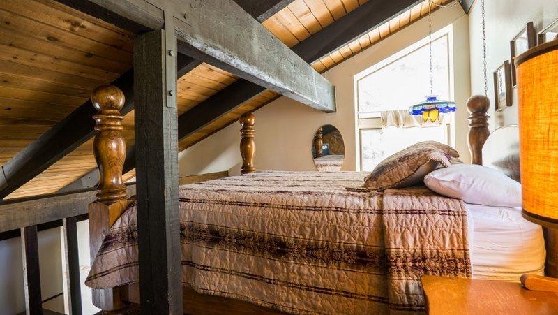 Loft, Costruire, Camera da letto, in camera, interna