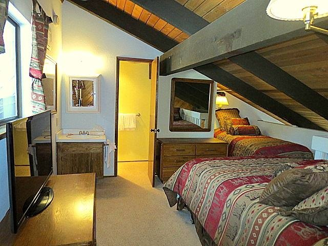 Ambientazione interna, Struttura, in camera da letto, Loft