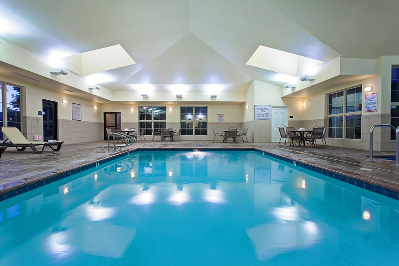 Spend time with family and friends in the indoor pool.