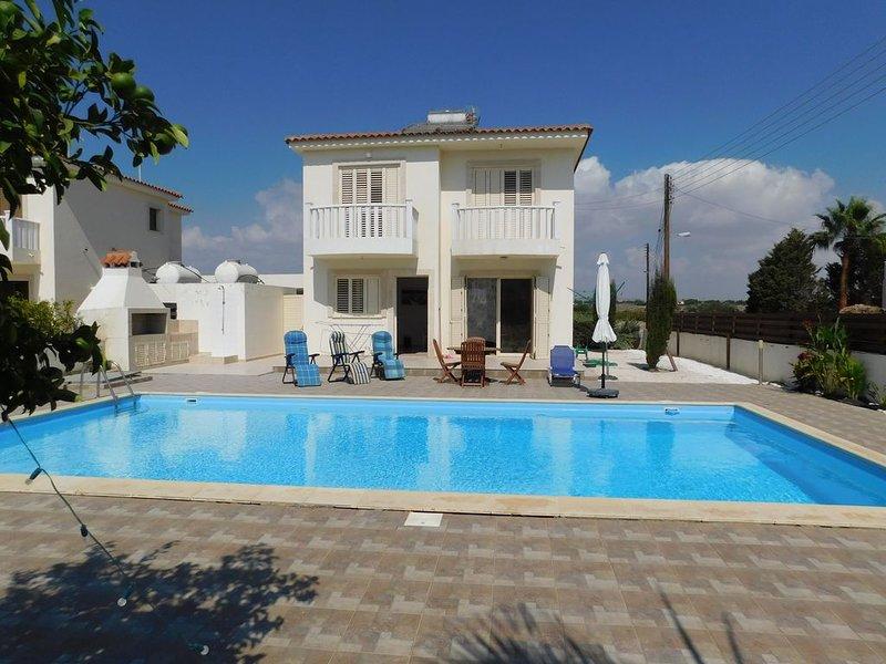 Villa Petounda Bay, alquiler de vacaciones en Mazotos